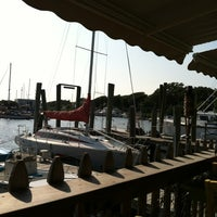 Photo taken at Fishy Fishy Cafe by Cathy M. on 6/19/2012