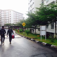 Photo taken at Kolej Sains Kesihatan Bersekutu Johor Bahru by Adam K. on 9/17/2016