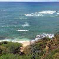 Photo taken at Diamond Head Scenic Point by Tae on 9/13/2016