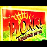 Photo taken at Plonk! Beer & Wine Bistro by Jeremy S. on 11/17/2012