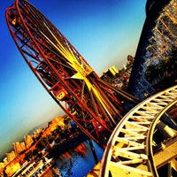 Photo taken at California Screamin' by Tigger on 10/25/2012