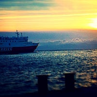 Photo taken at Παραλία Ραφήνας by Alexis P. on 5/9/2014