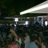Photo taken at La Carpa Sant Cugat by David F. on 7/13/2013