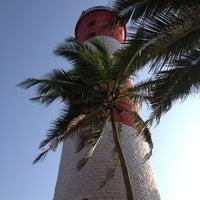 Photo taken at Vizhinjam Lighthouse by Shivani G. on 10/1/2013