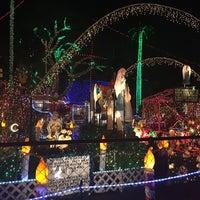 Photo taken at Christmas Light Display (christmasdisplay.org) by Tina N. on 12/4/2016