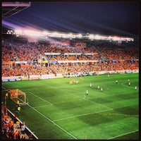 Photo taken at BBVA Compass Stadium by Michael L. on 8/4/2013