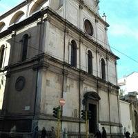 Photo taken at Chiesa di San Maurizio al Monastero Maggiore by Dan L. on 2/8/2013