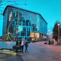 Photo taken at Cardiff Central Library by Yaxi Y. on 5/15/2013
