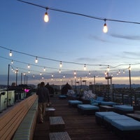Photo taken at Clarendon - Roof by Guamibear on 2/24/2016