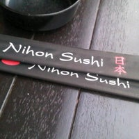 Photo taken at Nihon Sushi by Diego R. on 1/25/2013