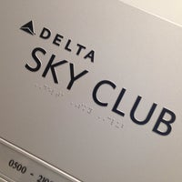 Photo taken at Delta Sky Club by Preston B. on 6/10/2013