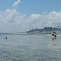 Photo taken at Praia do Wimbe by Alberto F. on 9/18/2013