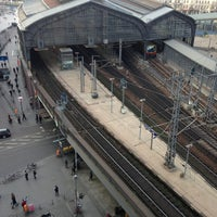 Photo taken at Bahnhof Berlin Friedrichstraße by Stefan B. on 1/18/2014