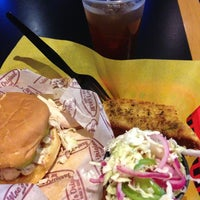 Photo taken at Moe's Bar-B-Que & Bowl by Michael M. on 9/2/2013