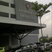Photo taken at Kinderfield Highfield School Duren Sawit by Anastasia Y. on 12/14/2012