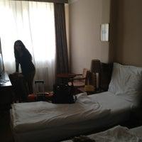 Photo taken at Antik City Hotel Prague by Fer M. on 8/27/2013