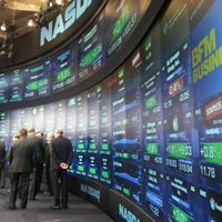 Photo taken at Nasdaq Marketsite by Eduardo L. on 12/17/2012