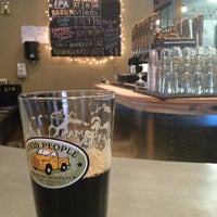 Photo taken at Good People Brewing Company by Allen C. on 11/1/2012