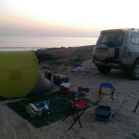 Photo taken at AsSeifa Beach by Salim A. on 11/21/2014
