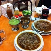 Photo taken at Birria La Perla Tapatia by Georgee L. on 11/18/2012