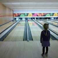 Photo taken at Astoria Bowl by Peter D. on 2/10/2013