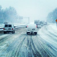 Photo taken at Route 128 by Jim on 2/5/2014