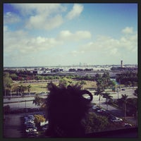 Photo taken at Sheraton Fort Lauderdale Airport & Cruise Port Hotel by Jess W. on 2/23/2013