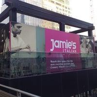 Photo taken at Jamie's Italian by Emre on 6/29/2012