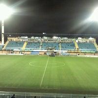 Photo taken at Estádio Aderbal Ramos da Silva (Ressacada) by Fabio R. on 7/27/2012