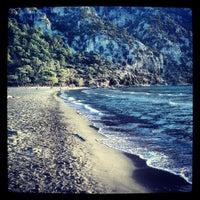 Photo taken at İztuzu Beach by Emre B. on 10/14/2013