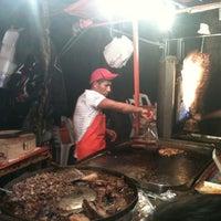 Photo taken at Tacos Arenal (Los Naranjas) by Jossué G. on 12/13/2012