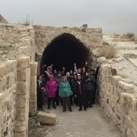 Photo taken at Karak Castle قلعة الكرك by Emine B. on 12/1/2016
