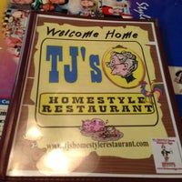 Photo taken at TJ's Homestyle Restaurant by Steve Z. on 11/6/2012