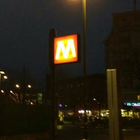 Photo taken at Metro Rivoli (M1) by Marco V. on 2/29/2016