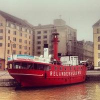 Photo taken at Lightship Relandersgrund by Aleksei K. on 11/3/2013