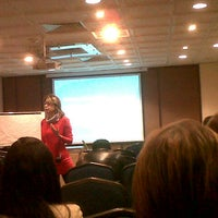 Photo taken at Hotel Cosmos 100 by Juan Y. on 11/10/2012