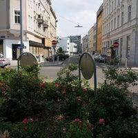Photo taken at Sparkassaplatz by Anna Genial L. on 7/19/2013