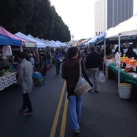 Photo taken at Hollywood Farmer's Market by Robert A. on 12/9/2012