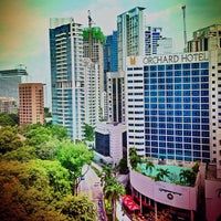 Photo taken at Orchard Hotel by ivan w. on 1/9/2013