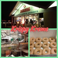 Photo taken at Krispy Kreme Doughnuts by Michael L. F. on 8/17/2013
