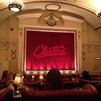 Photo taken at Electric Cinema by Hugh R. on 12/16/2012