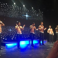 Photo taken at Chippendales Theatre at The Rio Vegas by Juliet on 9/11/2016