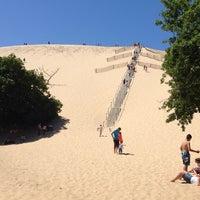Photo taken at Dune du Pyla by Paul M. on 5/18/2014