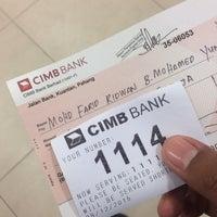 Photo taken at CIMB Bank by Farid R. on 12/28/2015