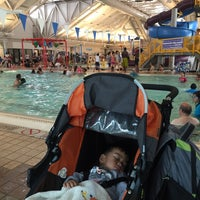 Photo taken at Silliman Family Aquatic Center by Beverly H. on 6/4/2016