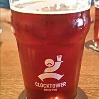 Photo taken at Clocktower Brew Pub by Sébastien B. on 9/25/2015