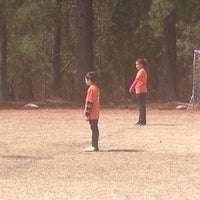 Photo taken at YAKS Soccer Complex by Ronnie T. on 3/28/2015