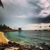 Photo taken at Sutera Harbour Resort by Prakash D. on 5/24/2013