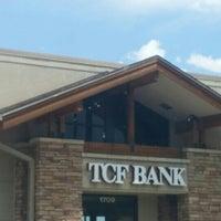 Photo taken at TCF Bank by Meagan W. on 5/25/2016