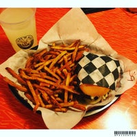 Photo taken at NYC Burgers & Dogs by Paco S. on 10/9/2015